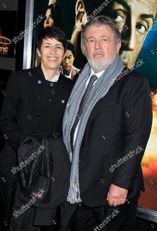 Stock Picture of Walter Hill, Director and wife Hildy Gottlieb