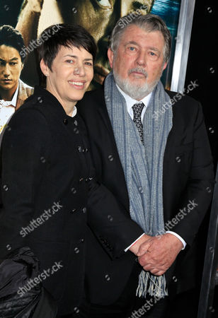 Stock Photo of Walter Hill, Director and wife Hildy Gottlieb