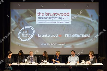 Editorial image of 2013 Bruntwood Prize for Playwriting, London, Britain - 30 Jan 2013
