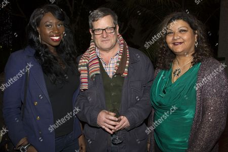 Bola Agbaje, Christopher Campbell and Tanika Gupta