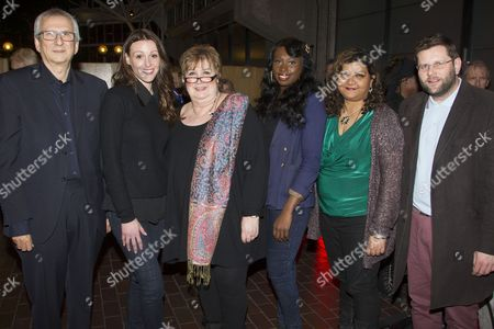 Greg Hersov, Suranne Jones, Jenni Murray, Bola Agbaje, Tanika Gupta and David Eldridge