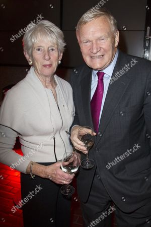 Stock Photo of Jean Oglesby and Bruntwood Chairman Michael Oglesby