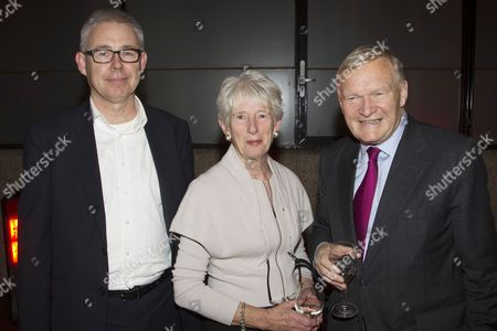 Stock Picture of Simon Mellor, Jean Oglesby and Bruntwood Chairman Michael Oglesby