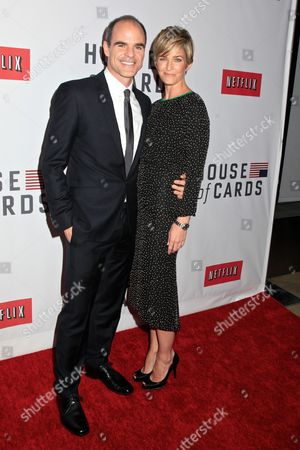 Michael Kelly with wife Karen Kelly