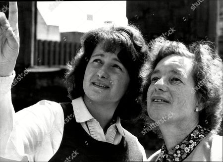 Stock Photo of Mrs Joan Paton (mrs William Paton) (left) With Mother Mrs Jessie Phillips Abortion Story 1978: William Paton Of Liverpool United Kingdom Attempted To Stop His Separated Wife Joan From Undergoing An Abortion In The 1978 Case Paton V. Trustees Of British Pregnancy Advisory Service Trustees. A Judge Ruled In His Wife's Favour And Mr. Paton's Later Request For A Hearing Before The European Court Of Human Rights Was Also Denied.