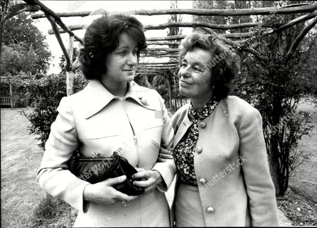 Editorial image of Mrs Joan Paton (mrs William Paton) (left) With Mother Mrs Jessie Phillips Abortion Story 1978: William Paton Of Liverpool United Kingdom Attempted To Stop His Separated Wife Joan From Undergoing An Abortion In The 1978 Case Paton V. Trustees Of Briti