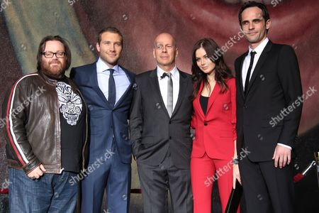 Editorial image of 'A Good Day to Die Hard' film photocall, Los Angeles, America - 31 Jan 2013