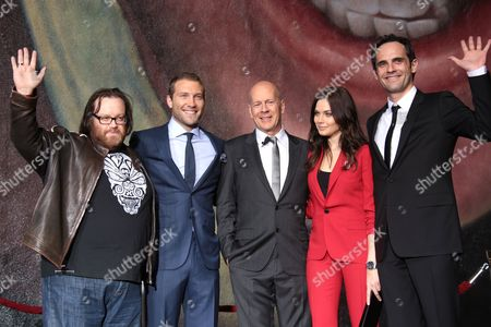 Editorial picture of 'A Good Day to Die Hard' film photocall, Los Angeles, America - 31 Jan 2013