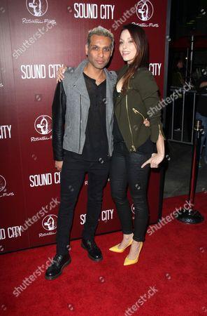 Tony Kanal and Erin Lokitz
