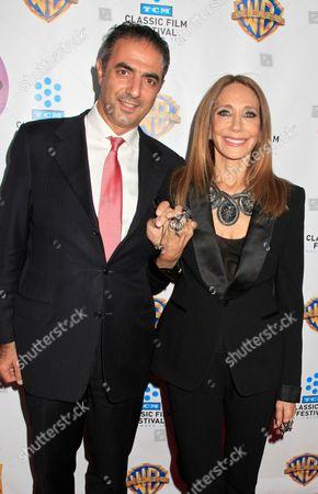 Jean-Michel Simonian and Marisa Berenson