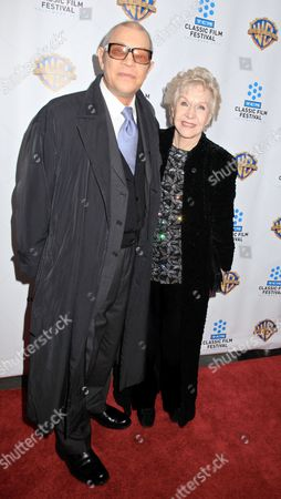 Stock Picture of Michael York and wife Patricia McCallum