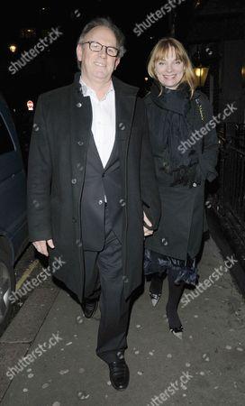 Stock Photo of Peter Davison and Elizabeth Morton