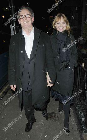 Stock Image of Peter Davison and Elizabeth Morton
