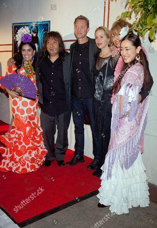 Stock Picture of Paloma Rios, Jose Tanaka, Martyn LeNoble, Christina Applegate, Katina Dunn, Mizuho Sato