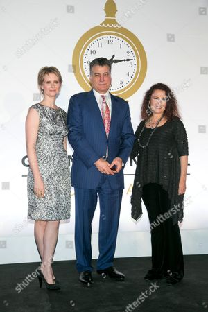 Cynthia Nixon, Keith Hernandez and Melissa Manchester