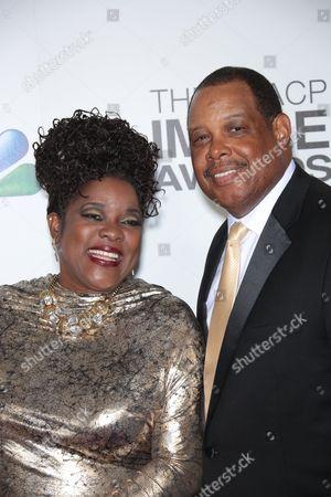 Loretta Devine and husband Glenn Marshall