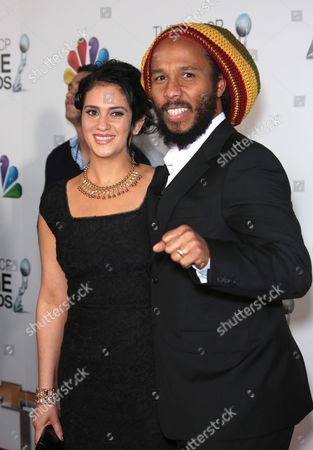 Orly Marley and Ziggy Marley