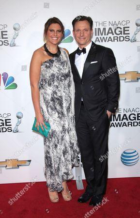 Anna Musky-Goldwyn and Tony Goldwyn