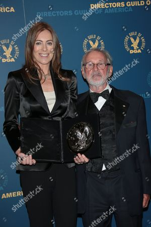 Kathryn Bigelow and Norman Jewison