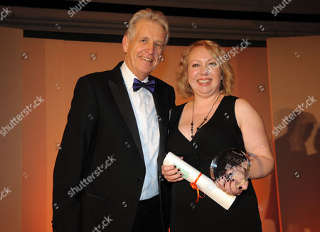 Daily Mail Inspirational Women Of The Year Nicholas Owen With A Winner.