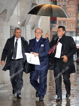 Asil Nadir Arrives At The Old Bailey This Morning. The 70-year-old Stands Accused Of Stealing Almost A150m. The Trial Started Yesterday At The Old Bailey 22 Years After The Company Collapsed Into Administration Owing A550m. 24/01/12