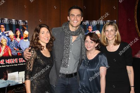 Stock Photo of Trish Dalton, Cheyenne Jackson, Rachel Dratch and Elizabeth Sperling