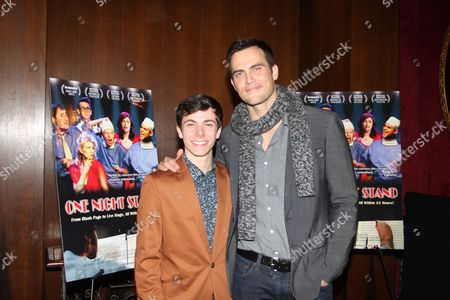 Henry Hodges and Cheyenne Jackson