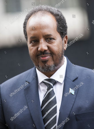 Somali President, Sheikh Sharif Ahmed