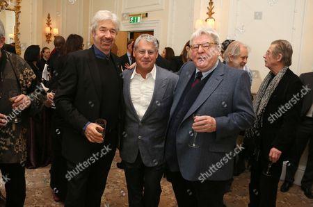 Willy Russell, Sir Cameron Mackintosh, Sir Alan Parker