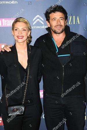 Judith El Zein and Patrick Bruel