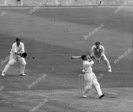 Cricketer Jack Bond At Bat John David 'jack' Bond Born In Kearsley Near Bolton Lancashire On 6 May 1932 Is A Former Cricketer Who Played For Lancashire And For One Season For Nottinghamshire. Jack Bond Was A Right-handed Middle Order Batsman And A Good Close Fielder Who Had A Fairly Unspectacular County Cricket Career For Lancashire From 1955 Being Assured Of A Regular Place In A Strong Batting Line-up In Only A Few Seasons Among Them 1962 When He Scored 2 125 Runs At An Average Of More Than 36. But By The Mid-1960s He Was Second Eleven Captain And An Irregular First-class Cricketer. Success With The Second Team Though Led To An Unexpected Call-up To Be First Team Captain From 1968 And Over The Next Five Seasons Bond Led A Previously Under-achieving Side To A Run Of Success In One-day Cricket Competitions That Has Not Been Equalled. Intensively Competitive Bond Led By Example In The Field And Often Made Useful Runs Normally Batting At No 6 Or Lower. A Mostly Young Team Included Future England Cricketers Such As Barry Wood David Lloyd Frank Hayes Peter Lever And Ken Shuttleworth And Lancashire Recruited Proven Matchwinners In Clive Lloyd And Farokh Engineer As The Overseas Stars.