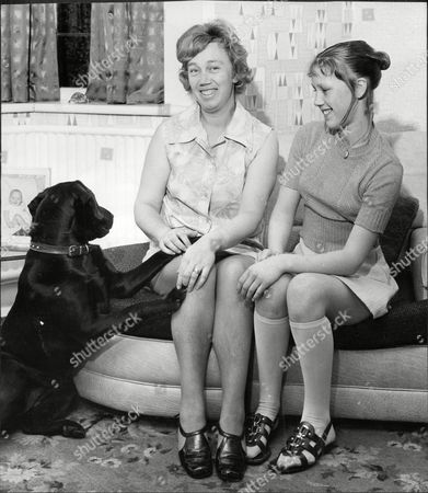 Mrs Florence Bond (mrs Jack Bond) Wife Of Cricketer Jack Bond With Daughter Stephanie At Home John David 'jack' Bond Born In Kearsley Near Bolton Lancashire On 6 May 1932 Is A Former Cricketer Who Played For Lancashire And For One Season For Nottinghamshire. Jack Bond Was A Right-handed Middle Order Batsman And A Good Close Fielder Who Had A Fairly Unspectacular County Cricket Career For Lancashire From 1955 Being Assured Of A Regular Place In A Strong Batting Line-up In Only A Few Seasons Among Them 1962 When He Scored 2 125 Runs At An Average Of More Than 36. But By The Mid-1960s He Was Second Eleven Captain And An Irregular First-class Cricketer. Success With The Second Team Though Led To An Unexpected Call-up To Be First Team Captain From 1968 And Over The Next Five Seasons Bond Led A Previously Under-achieving Side To A Run Of Success In One-day Cricket Competitions That Has Not Been Equalled. Intensively Competitive Bond Led By Example In The Field And Often Made Useful Runs Normally Batting At No 6 Or Lower. A Mostly Young Team Included Future England Cricketers Such As Barry Wood David Lloyd Frank Hayes Peter Lever And Ken Shuttleworth And Lancashire Recruited Proven Matchwinners In Clive Lloyd And Farokh Engineer As The Overseas Stars.