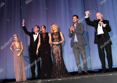 Kellie Shirley, Neil Morrissey, Sarah Harding, Danny Dyer and Ray Cooney
