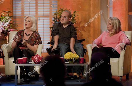 Stock Image of Madam Becky Adams, Asta Philpot and Carole Malone