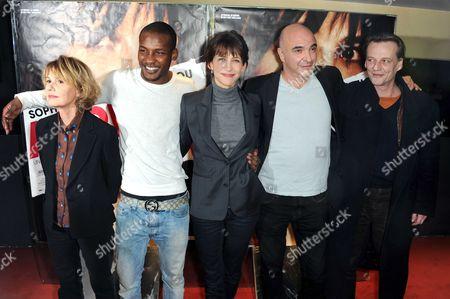 Miou-Miou, Yann Ebonge, Sophie Marceau, Jean-Paul Lilienfeld and Marc Barbe