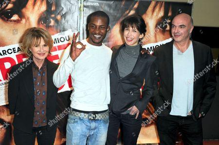 Miou-Miou, Yann Ebonge, Sophie Marceau and Jean-Paul Lilienfeld