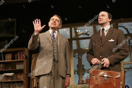 'Quartermaine's Terms' - Rowan Atkinson (St. John Quartermaine) and Will Keen (Derek Meadle)