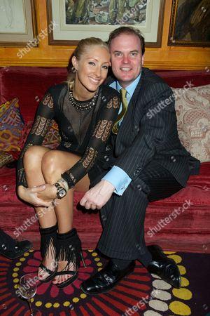 Emma Pilkington and Lord Dalmeny