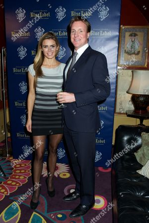 Editorial image of Johnnie Walker Blue Label and David Gandy Partnership Launch Party, Annabel's Club, London, Britain - 05 Feb 2013