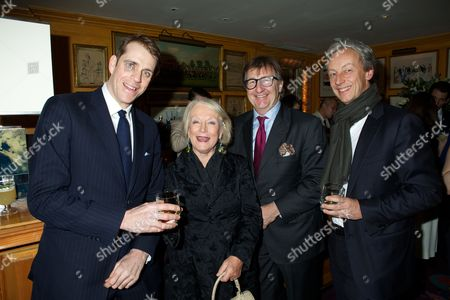 Editorial picture of Johnnie Walker Blue Label and David Gandy Partnership Launch Party, Annabel's Club, London, Britain - 05 Feb 2013
