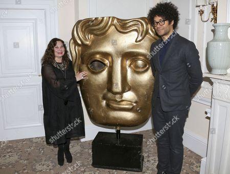 Tessa Ross and Richard Ayoade