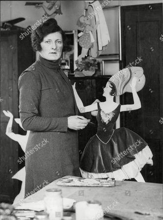 Mrs Katherine Pearce Window Dresser.