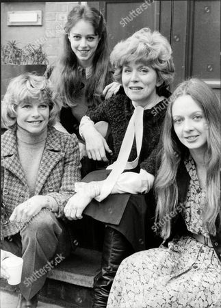 Stock Picture of South African Actress Mary Peach A Premiers Of Play 'the Autumn Garden' At The Watford Palace Theatre L-r Mary Peach Rosamund Attwood Colette O'neill And Irene Richards Mary Peach (born 20 October 1934 Durban South Africa) Is A British Film And Television Actress Who Was Married To The Screenwriter And Director Jimmy Sangster Until His Death In 2011. She Is Best Known For Playing In Several Bbc Television Programmes Including Disraeli. She Starred Opposite Rock Hudson In The Film A Gathering Of Eagles. She Appeared In The Tv Series Doctor Who In The Second Doctor's Story The Enemy Of The World. When Diana Rigg Left The Avengers In 1968 She Was One Of The Actresses Considered For The Role Of Steed's New Assistant. In 1970 She Appeared In The Film Scrooge A Musical Version Of Dickens A Christmas Carol Starring Albert Finney.