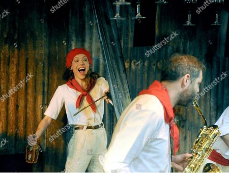 'Fiesta (The Sun Also Rises)' - Josie Taylor as Brett and Paul Silver