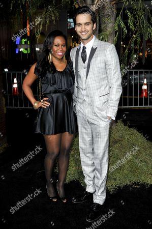 Michael Steger & wife Brandee Tucker