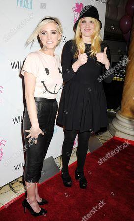 Stock Image of Ashlee Simpson and Kimberly Gordon
