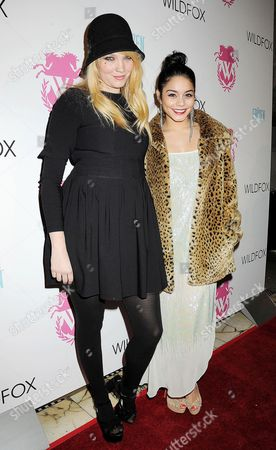 Stock Picture of Kimberly Gordon and Vanessa Hudgens