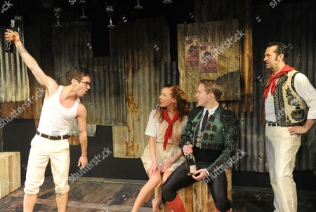 'Fiesta (The Sun Also Rises)' - Jye Frasca as Robert, Josie Taylor as Brett, Jack Holden as Romero, Phil Polecat