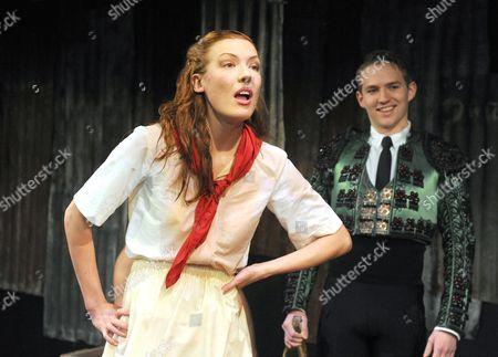 'Fiesta (The Sun Also Rises)' - Josie Taylor as Brett, Jack Holden as Romero