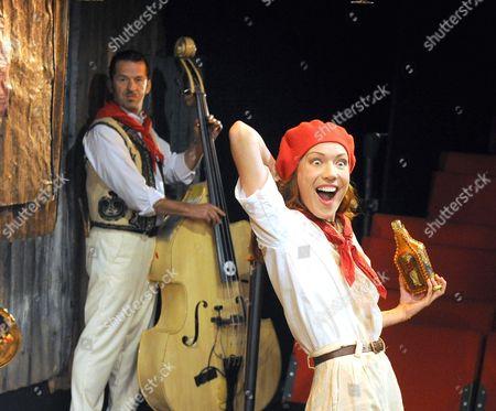 'Fiesta (The Sun Also Rises)' - Phil Polecat, Josie Taylor as Brett,